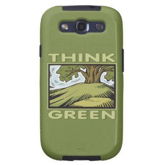 Think Green Oak Tree Galaxy S3 Case
