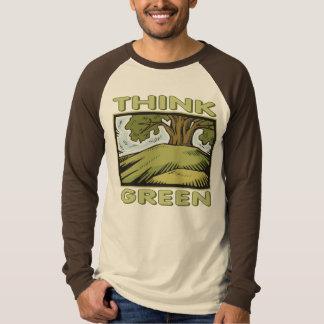 Think Green Oak Tree Shirts