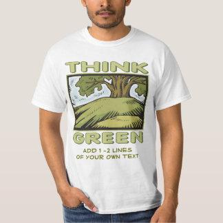 Think Green Oak Tree T-shirts