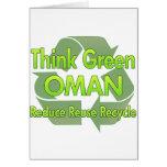 Think Green Oman Card
