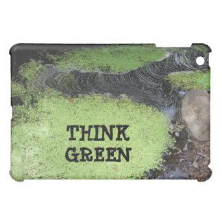 Think Green Pond  iPad Mini Cover