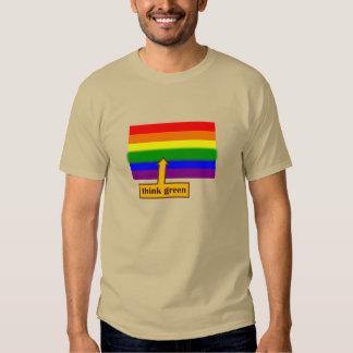 think green pride tee shirts