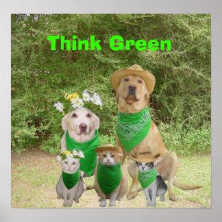 Think Green Print