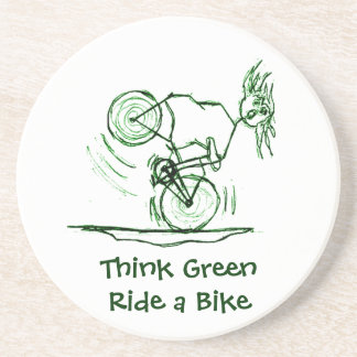 Think Green Ride a Bike Coaster