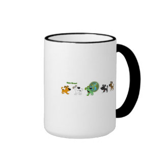 Think Green Ringer Mug