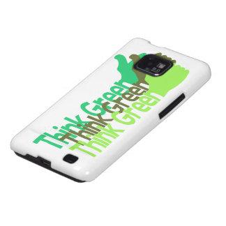 Think Green Samsung case Samsung Galaxy Case