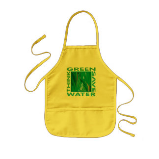 Think Green Save Water Apron