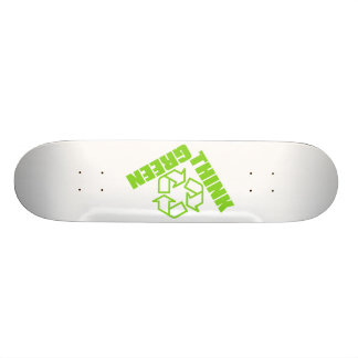 Think_Green Skate Board Deck
