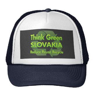 Think Green Slovakia Cap