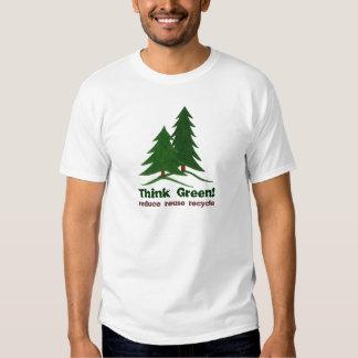 THINK GREEN!  - Tee