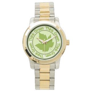 THINK GREEN watches