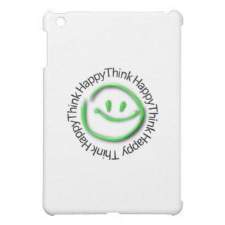 Think Happy (green neon edition) iPad Mini Covers