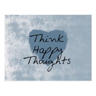 Think Happy Postcards