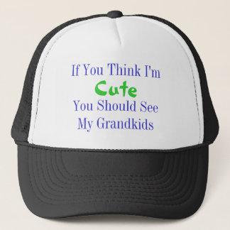 Think I'm Cute Trucker Hat