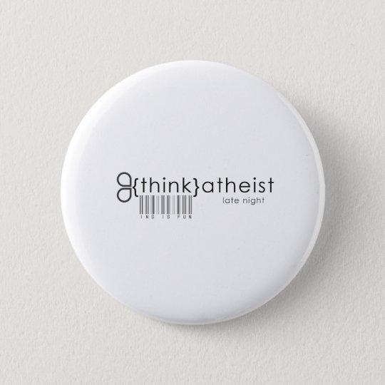 Think is Fun! 6 Cm Round Badge