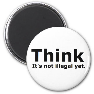 Think it s not illegal yet political gear refrigerator magnets