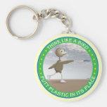 Think Like A Bird Keychains