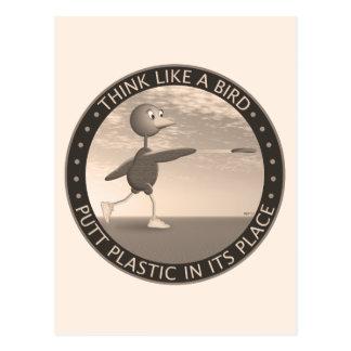 Think Like A Bird Postcard
