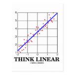 Think Linear (Linear Regression Statistics) Postcards