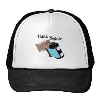 Think Negative Trucker Hat