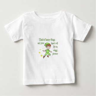 THINK OF HAPPY THINGS BABY T-Shirt