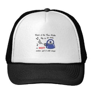 THINK OF THE TEA KETTLE TRUCKER HATS
