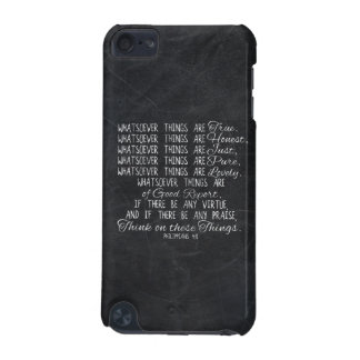 Think on These Things Christian Bible Scripture iPod Touch (5th Generation) Case