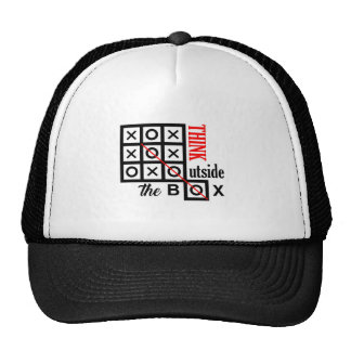 think outside box text message smart tic tac toe c cap