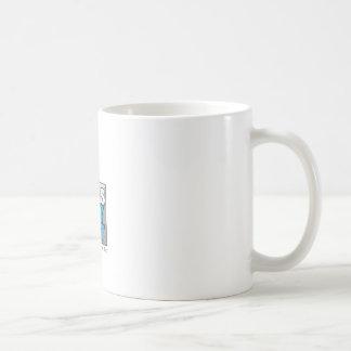 Think outside of the box. basic white mug