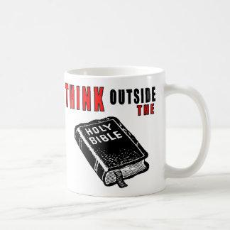 Think Outside the Bible Coffee Mugs