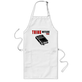 Think Outside the Bible Long Apron