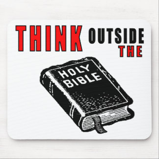 Think Outside the Bible Mouse Pad