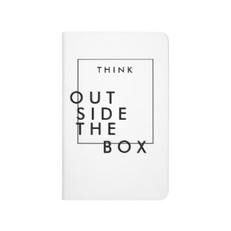 Think Outside The Box | Chic Inspirational Journals