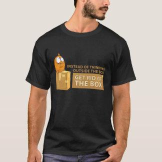 """Think Outside The Box"" T-Shirt"