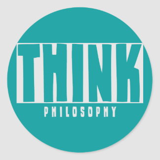 Think Philosophy Stickers
