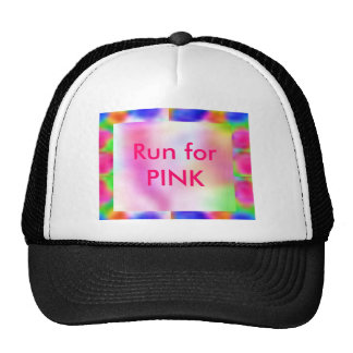 Think Pink - Support Cancer Research Trucker Hat