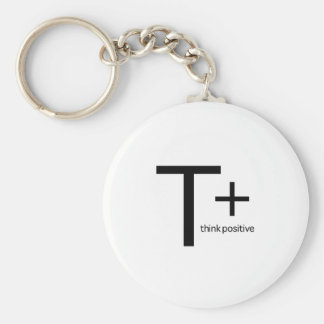 Think Positive Key Chains