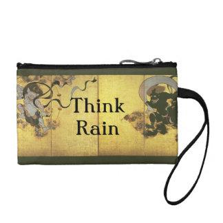 Think Rain Japanese Rain Gods Coin Purse