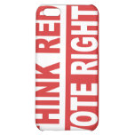 Think Red Vote Right iPhone 5C Covers