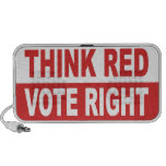 Think Red Vote Right Portable Speaker