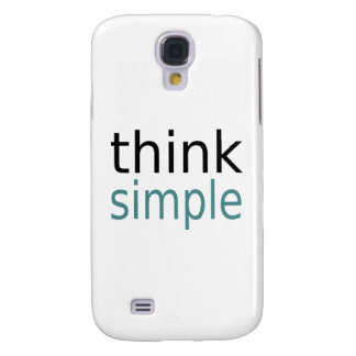 Think Simple Samsung Galaxy S4 Case