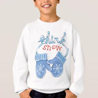 Think Snow Mittens Sweatshirt