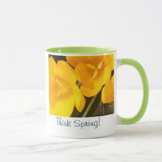 Think Spring Coffee Cup