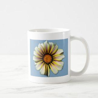 Think Spring Floral Cornflower Basic White Mug