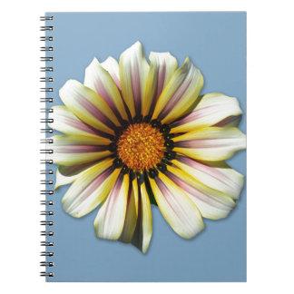 Think Spring Floral Cornflower Note Book