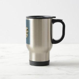 Think Spring Floral Cornflower Stainless Steel Travel Mug