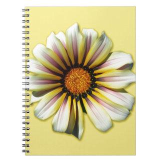 Think Spring Floral Dandelion Spiral Note Books