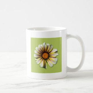 Think Spring Flower Fern Basic White Mug