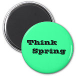 Think     Spring Magnets
