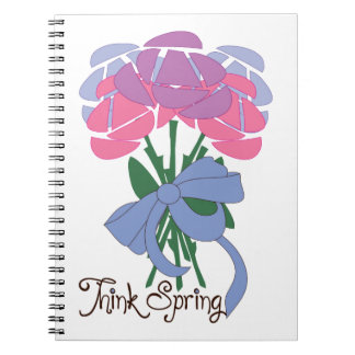 Think Spring Note Books